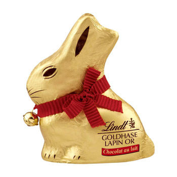 Simply Market : Lapin or lait Lindt 100g