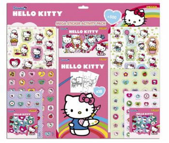 Panini Store : Méga Sticker Activity Hello Kitty