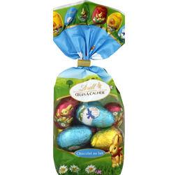 Monoprix : Oeufs en chocolat à cacher Lindt
