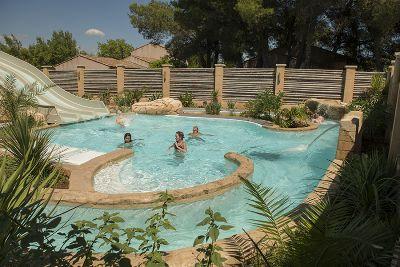 Cashback Maeva : Parc aquatique dans le camping La Prairie dans le Var