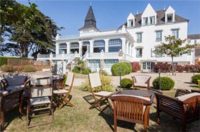 Cashback Partirpascher : Parc de l'hôtel Tumulus en Bretagne
