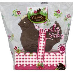 Monoprix : Poule Vichy au chocolat au lait 175g de Cémoi