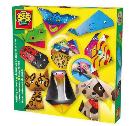 Vbs-hobby : Set animaux en papier à plier